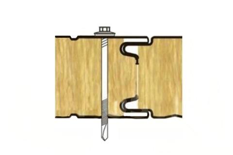 Стеновая ТСП с открытым креплением-Z LOCK