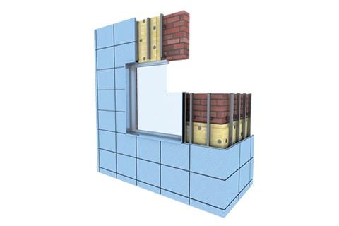 Фасадные кассеты с открытым типом крепления