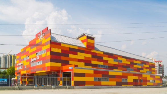 Логистический комплекс Жарден, г.Екатеринбург, ул.Высоцкого
