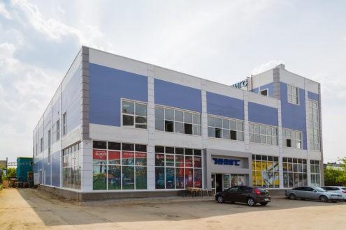 Торговый комплекс Инигс, г.Екатерибург, ул.Шефская