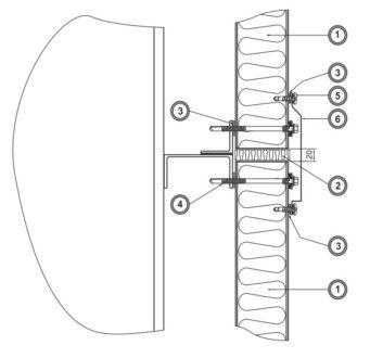 Удлинение фасада (Ф15)