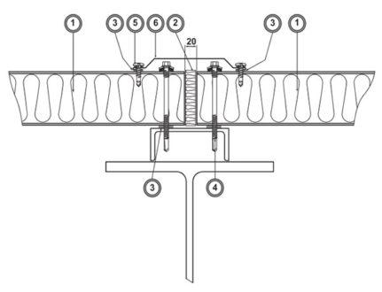 Удлинение фасада (Ф16)